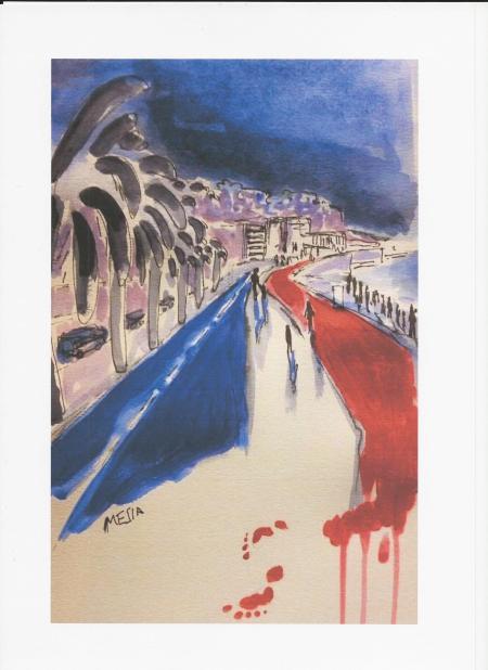 2016 14 juillet - deuil national pour les victimes de Nice