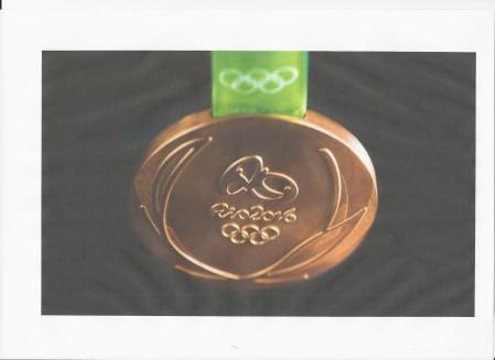 2016 - 2 Août médaille olympique