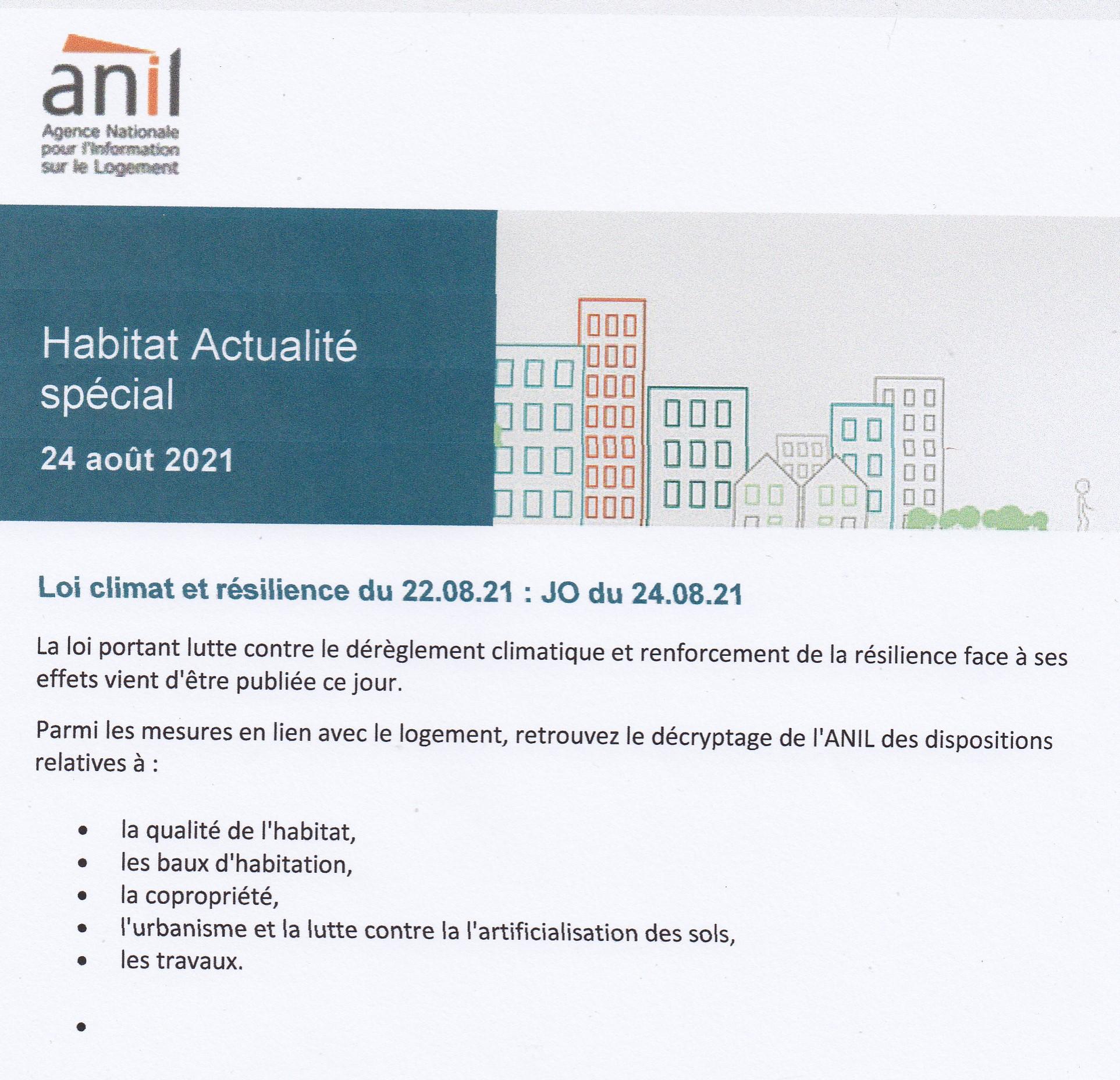 2021 - 24 Août Rapport ANIL
